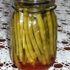 Dilly Beans - Spicy pickled green beans made the old fashioned way. This was my Grandmother's recipe, I hope you enjoy!