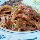 Cuban Ropa Vieja - This is great shredded beef served on tortillas or over rice. Add sour cream, cheese, and fresh cilantro on the side.