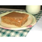 Peanut Butter Sheet Cake - Texas Sheet Cake made with peanut butter instead of chocolate! Wonderfully moist with a delicious peanut butter frosting!