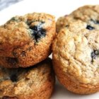 Low-Fat Blueberry Bran Muffins - These muffins are just as delicious and moist as regular muffins!  They'll be gone before they have time to cool. Low-fat, healthy and yummy, imagine that.