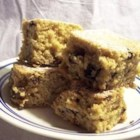 Monkey Bars - Similar to banana bread, this moist cake is enriched with creamy buttermilk, brown sugar, butter, walnuts, and rum. Apple juice can be substituted for the rum, and pecans for the walnuts.