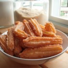 Churros II - These fried crullers are rolled in cinnamon sugar while still hot. A wonderful treat!