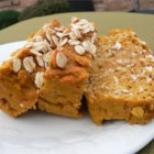 Pumpkin Oat Bread - Pumpkin bread gets extra heartiness when made with rolled oats.