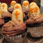 Cupcake Graveyard - Great at Halloween time! I always bring these ghoulish treats to class parties.