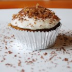 Candied Yam Cupcakes - Steamed yams add moistness, beautiful color, and fabulous taste to these cute little cream cheese frosted cupcakes.
