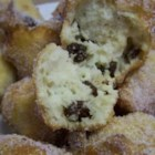New Year's Cookies - Hints of nutmeg and vanilla highlight these deep fried cookies dipped in a sweet glaze.