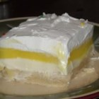 Lemon Lush - A family friend shared this lemon and cream cheese dessert with me. It has been a hit with our family now for all our get togethers.