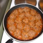 Porcupine Meatballs II - Simple and delicious. Beef meatballs with rice, simmered in tomato soup. Great for a fast meal on a busy schedule.