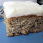 Surprise Banana Cake - This is an old Seattle recipe for a simple cake to turn overripe bananas into a delicious dessert.