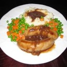 Bangers and Mash - One of the classic meat and potatoes meals. A great British dish my grandmother made for us on those cold and stormy days.