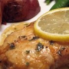 Rich Herb and Lemon Chicken - Chicken breasts are flattened, browned, then slowly simmered in a lemony cream sauce with rosemary and thyme.