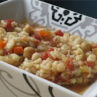 Beaker's Vegetable Barley Soup - Easy to make and delicious. Vegetable broth, barley, and lots of veggies make this soup hearty and filling. I use and recommend organic products. Please add a review if you make it. Enjoy!