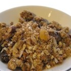 Homemade Cereal - Grains, fruit, honey, and spices--the perfect way to start the day!