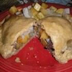 Pasties II - A traditional Upper Peninsula of Michigan treat! Complete with rutabaga! I am from the UP and this is the real deal! Rub pasties with a little milk for a golden color.