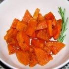 Baked Sweet Potatoes with Ginger and Honey - Fresh ginger, cardamom, and sweet potatoes will fill your house with a fall fragrance as well as call your family to the table. Originally submitted to ThanksgivingRecipe.com.