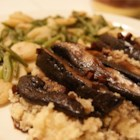 Savannah's Best Marinated Portobello Mushrooms - Portobello mushroom caps are flavored with an Asian-inspired marinade. Serve as steaks or on hamburger buns.
