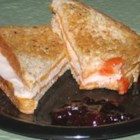 Sweet and Spicy Turkey Sandwich - This grilled turkey sandwich combines the heat of pepperjack cheese and the sweetness of strawberry preserves for a quick and tasty lunch. Try it with a Black Forest-type turkey for a nice smoky flavor.