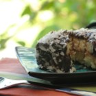 Lamingtons - Lamingtons are little sponge cakes coated in chocolate and grated coconut. A traditional Australian treat!