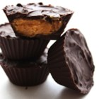 Chocolate Peanut Butter Cups - A simple but decadent confection that quells the urge to dip your chocolate bar in the peanut butter.