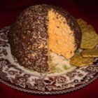 Caraway Cheese Ball - The caraway seeds add a nutty, rustic flavor that complements the sharp tang of the Cheddar cheese.