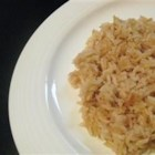 Easy Pilaf - If you have butter, onion, salt, chicken broth, and rice, you have all the makings for this simple side dish, so try it at your next dinner!