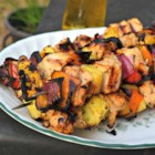 BBQ & Grilled Chicken Skewers and Kabobs