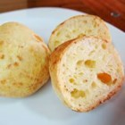 Brazilian Cheese Bread (Pao de Queijo) - These yummy breads are made with tapioca flour instead of wheat flour, making them good for people with an intolerance to wheat.