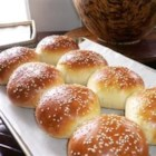 Burger or Hot Dog Buns - These yeast buns will lend a gourmet touch to your next barbecue -everyone will want to know where you bought them!