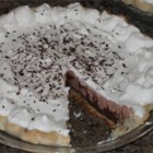 Krissy's Easy Chocolate Triple Layer Pie - This is the best and easiest chocolate pie ever. There never are any leftovers!