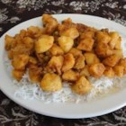 Batata Nu Shak (Potato Curry) - This spicy potato dish is delicious served with rice.