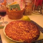 Cheese Rosti - This delicious layered potato and cheese recipe comes from Basel, Switzerland. Enjoy!