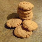 Sugar-Free Peanut Butter Cookies - My Dad is diabetic, but loves peanut butter cookies. I was playing around with some recipes to make a sugar-free version. This is what I came up with.