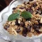 Almond Maple Granola - This granola is good and crunchy with lots of sweet flavor, thanks to the pure maple syrup and dark brown sugar.