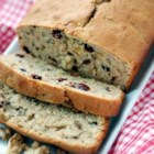 Cranberry Walnut Bread - These orange-scented quickbreads are full of chopped nuts and cranberries. They keep well, and also make great gifts!