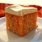 Orange Cream Cake I - Remember those yummy treats on a stick when you were a child?  Frozen orange on the outside and creamy vanilla on the inside?  Well, here's a cake that tastes just like those wonderful treats!