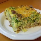 Breakfast Casserole III - Eggs, sausage, potatoes, cheese - it's a hearty breakfast prepared in a single dish!