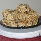 Muesli Bars II - This is a sweet combination of almonds, chocolate chips, rice puffs and oats. Its delicious and you can eat it for breakfast too!