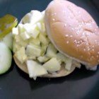 Cucumbers And Egg Salad -   Pickled and un-pickled cucumbers, a bit of mayonnaise and lots of delicious hard-boiled eggs. Easy and satisfying.