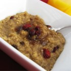 Quinoa Porridge - Looking for ideas for the quinoa you picked up at Trader Joe's?  Here's a dairy and wheat free breakfast porridge thick, rich and delish for those cold mornings in the Andes.  Those with nut allergies may wish to substitute soymilk or regular cow's milk for the almond.  Adjust sugar to your taste or substitute with agave syrup or black strap molasses (use half as much). This recipe can easily be doubled.