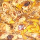 Drumsticks with Peach and Honey - If you love peaches and chicken, you'll love this recipe from Indonesia.