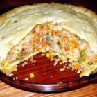 Salmon Pie I - A delicious salmon pie. It's a meal in itself.