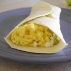 Easy Egg and Avocado Breakfast Burrito - Start your day with delicious scrambled egg and avocado burritos!