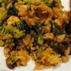 Broccoli and Rice Stir Fry - This is a simple stir fry recipe with broccoli, green onions, eggs, soy sauce and rice. You can modify this recipe to include any veggies you choose.