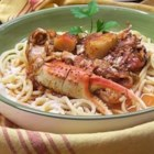Seafood Cioppino - This is as good as any restaurant's version! Serve with rice and a nice salad.