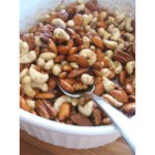 Microwave Spiced Nuts - This is a great, easy candied nut recipe. Try experimenting with the spices and nuts you like!