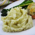 Artichoke Mashed Potatoes - A new way to make mashed potatoes that is creamy and smooth!