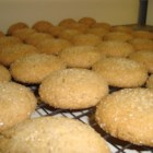 Spice Cookies with Crystallized Ginger - Crystallized ginger gives these spice cookies extra zip!
