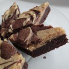Michelle's Peanut Butter Marbled Brownies - These brownies are mouth-wateringly rich and combine two of the most delicious flavors in the world - chocolate and peanut butter.