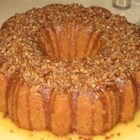 Penny's Whiskey Cake - A moist yellow cake that has the flavor of whiskey for a distinctly grown-up treat.