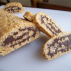 Cereal Chocolate Roll - A no-bake, jelly roll-like cookie made with cereal.